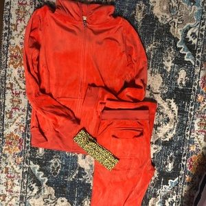 Orange Cheetah Girl Costume